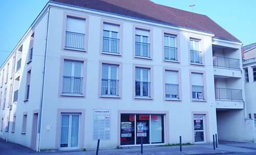 Bâtiment Espace Santé à Auxonne